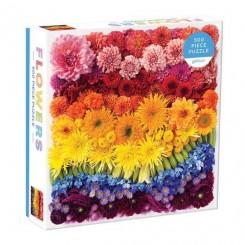 Rainbow Summer Flowers, 500 brikker