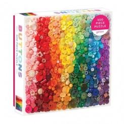 Rainbow Rainbow Buttons, 500 brikker
