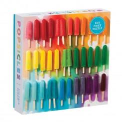Rainbow Popsicles, 500 brikker