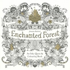 Malebog Enchanted Forest: An Inky Quest and Colouring Book