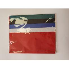 Silkepapir mix, rød, hvid, blå, sort, grøn