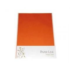 Paper Line, karton, 180 g, mørkeorange