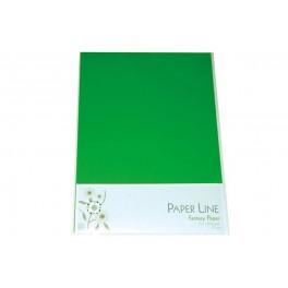 Paper line karton A4, 180g, Grøn