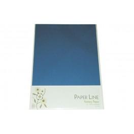 Paper line karton A4, 180g, Cobolt blå