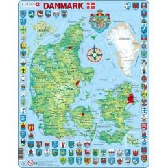 Larsen puslespil Danmark