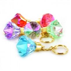 Nøglering diamant, 10cm