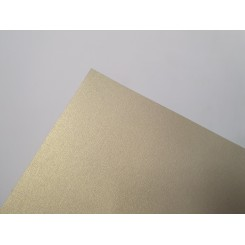 Metallic papir A4, 120g, 10 ark, sand