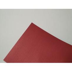 Metallic papir A4, 120g, 10 ark, rød