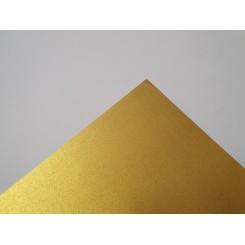 Metallic papir A4, 120g, 10 ark, guld