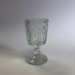 Glasstage, tykt glas, 14 cm