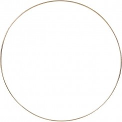 Metalring, guld Ø30cm