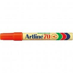 Artline 70, permanent marker, rød