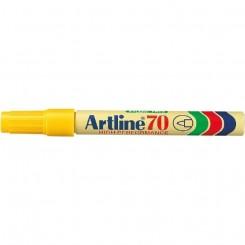 Artline 70, permanent marker, gul