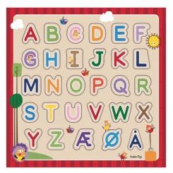 Wacky Wonders Alfabet puslespil