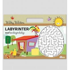 Wacky Wonders Aktivitetshæfte labyrinter