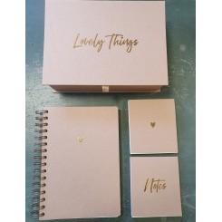 Mindekasse og gæstebog til bryllup