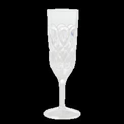Rice Akryl Champagneglas - Gennemsigtig