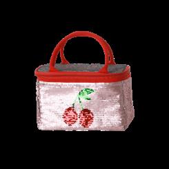 Rice Køletaske - Mild Pink - Cherry Print
