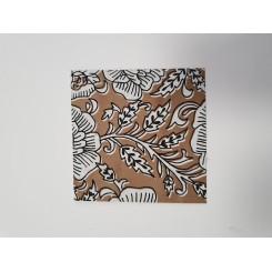 Kuvert med mønster, blomster
