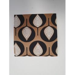 Kuvert med mønster, blade