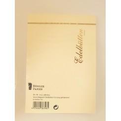 Rössler Edelbütten kuverter, 20 stk., C6, banket, creme