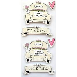 Rössler klistermærker, Just Married