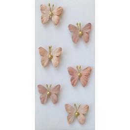 Rössler klistermærker, Sommerfugle, rosa