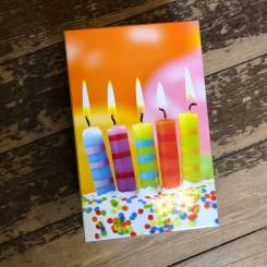 Æsker med fødselsdagslys, 9 størrelser
