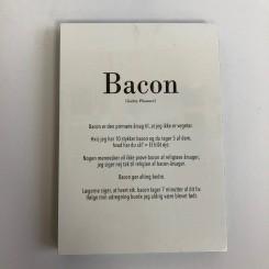 Kunstklods, Bacon