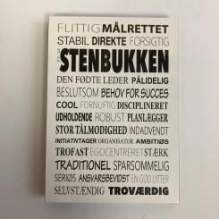 Kunstklods, Stenbukken