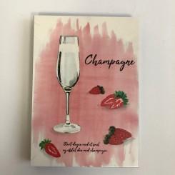 Kunstklods, Champagne