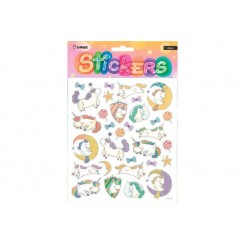 Stickers, Enhjørning og slikkepinde