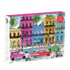 Puslespil CUBA by Michael Storrings, 1000 brikker