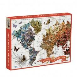 Puslespil Butterfly Migration, 1000 brikker