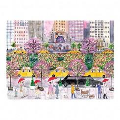 Puslespil Spring on Park Avenue, 1000 brikker