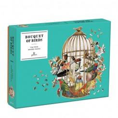 Puslespil Bouquet of Birds, 750 brikker