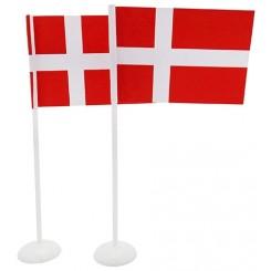 Flag på fod, 8 stk.