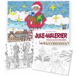 Jule-malerier malebog