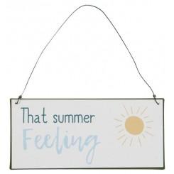 Metalskilt - That summer feeling