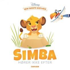 Min første historie: Simba hører ikke efter