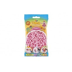 Hama MIDI perler, 1000 stk., pastel rosa