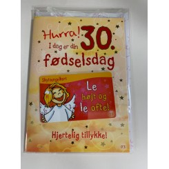 Skytsenglekort, Hurra 30. fødselsdag