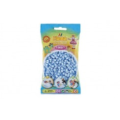 Hama MIDI perler, 1000 stk., pastel isblå