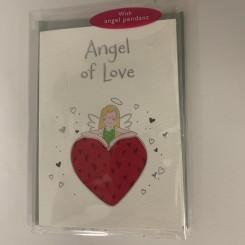 Englekort med vedhæng, Angel of love