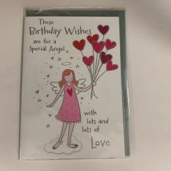 Englekort, Birthday wishes
