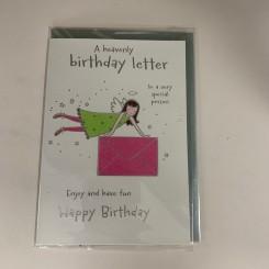 Englekort, Birthday letter