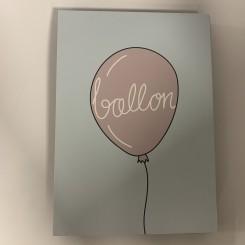 Kunstklods, Ballon
