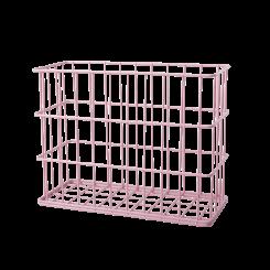 Rice Metal Trådkurv, Mild Pink