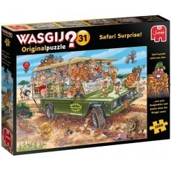 Wasgij 31, Puslespil Safari, 1000 brikker