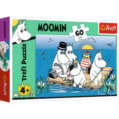 Puslespil Moomins at the lake, 60 brikker